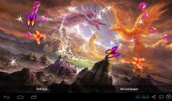 3D Phoenix Bird Live Wallpaper screenshot 4/5