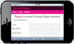 Divorced Singles screenshot 2/4