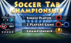 Pocket Soccer Tab Football Championship HD screenshot 1/5