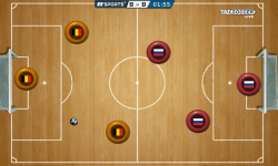 Pocket Soccer Tab Football Championship HD screenshot 4/5