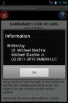 Hammurabi Code of Laws Reader screenshot 2/5