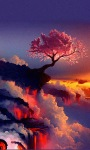 Fantasy Lava Tree Live Wallpaper screenshot 2/3
