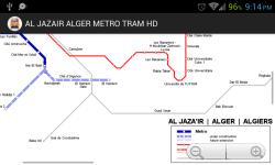 AL JAZA IR ALGER METRO TRAM HD screenshot 3/4