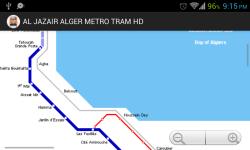 AL JAZA IR ALGER METRO TRAM HD screenshot 4/4