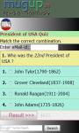 President of USA quiz screenshot 1/3