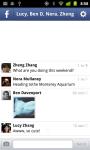 Facebook SMS App by Shorthand screenshot 1/6