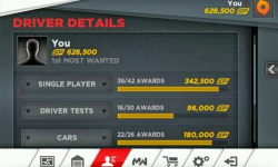 nfs most wanted cheats android screenshot 6/6