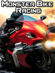 Monster Bike Racing Free screenshot 1/3
