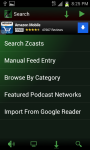 Zcasts Podcatcher screenshot 3/5