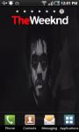 The Weeknd LWP screenshot 2/3