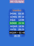 3D Prayer Times Mobile WorldWide Tesbih Java  screenshot 2/6