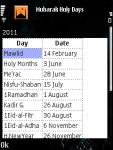 3D Prayer Times Mobile WorldWide Tesbih Java  screenshot 6/6