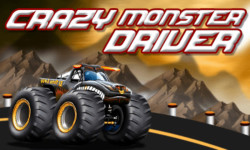 Crazy Monster Driver - Free screenshot 1/4