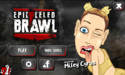 Epic Celeb Brawl - Miley Cyrus screenshot 1/4