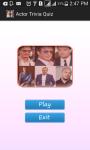 Actor Trivia screenshot 1/5