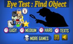 Eye Test Find HIdden Object screenshot 1/6