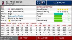 MLB Manager 2015 personal screenshot 6/6