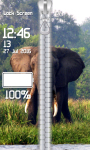 Elephant Zipper Lock Screen screenshot 5/6