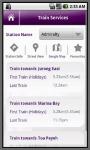Singapore MRT Info screenshot 3/5