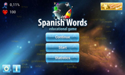Spanish Words Learning Game screenshot 6/6