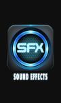 Sound Effects app screenshot 1/3