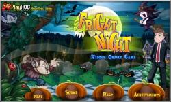Free Hidden Object Games - Fright Night screenshot 1/4