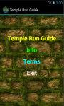 Temple Run Cheat N Tips screenshot 2/4