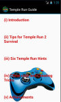 Temple Run Cheat N Tips screenshot 3/4