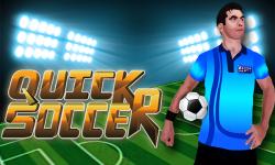 Quick Soccer screenshot 1/6