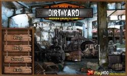 Free Hidden Object Game - Dirt Yard screenshot 1/4