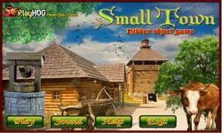 Free Hidden Object Games - Small Town screenshot 1/4