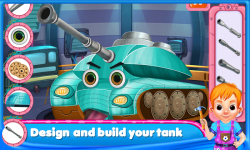 Tank Day Care Kids Game screenshot 1/6