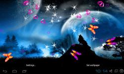 3D Mystic Night Wallpaper screenshot 3/5