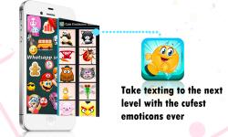 Cute Emoticons Sticker screenshot 1/4