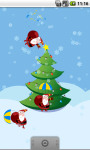 Funny Santas and Christmas Fir Tree FREE screenshot 1/3