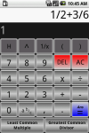 Fraction Calculator pro screenshot 2/6