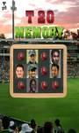 Cricketers Memory Game screenshot 1/6