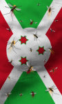 Burundi flag lwp Free screenshot 2/5