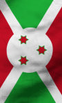 Burundi flag lwp Free screenshot 3/5