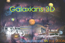 Galaxians_3D_by_DigitalWorks_IA screenshot 1/1