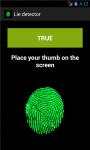 Lies detector - polygraph screenshot 2/6