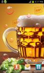 Drink Beer Live Wallpaper HD screenshot 1/3