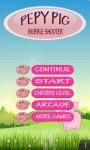 Pepy Pig Bubble Shooter screenshot 1/3