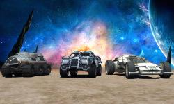 Jet Car Stunt Zone in space 3D screenshot 4/4