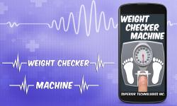 Weight Machine Checker Scanner Prank screenshot 1/5