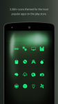 PipTec Green Icons and Live Wall base screenshot 3/6