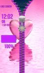 Zipper Lock Screen – Love screenshot 5/6