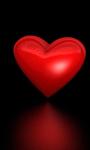 Beating Valentine heart live-wallpaper screenshot 2/5