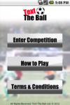 Text The Ball Competition screenshot 1/5