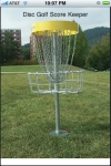 Disc Golf Scorekeeper for Frisbee Golf screenshot 1/1